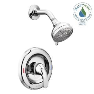 shower head and faucet combo. MOEN Adler 1 Handle Spray Shower Faucet with Valve in Chrome  Included 82604 The Home Depot