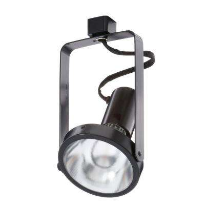 Trac-Lites Black Open-Back Spotlight