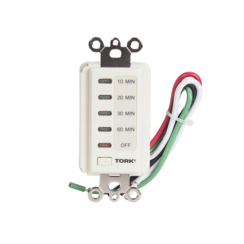 Woods 15 Amp 10 20 30 60 Minute In Wall Countdown Digital Timer Wiring A Switch 120 Volt Indoor Electronic