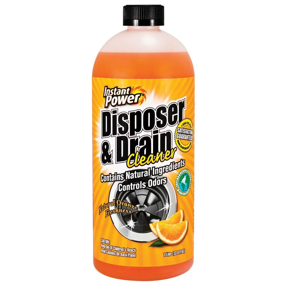 Instant Power 33 8 Oz Disposal And Drain Cleaner Orange