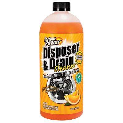33.8 oz. Disposal and Drain Cleaner Orange