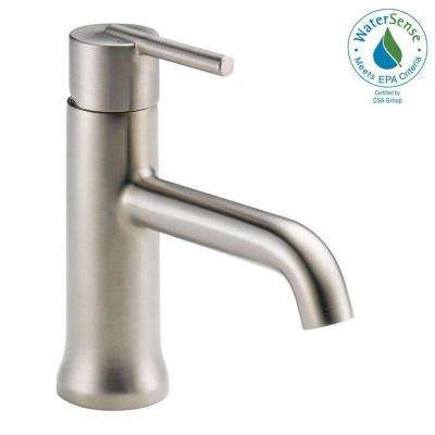 Trinsic Single Hole Single-Handle Bathroom Faucet in Stainless
