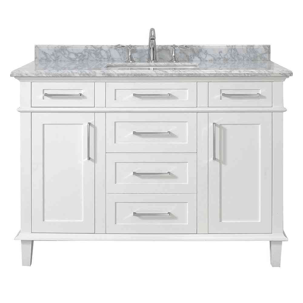 Home Decorators Collection Sonoma 48 in. W x 22 in. D Vanity in - Sale: $779.40 USD (40% off)