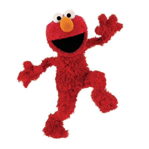 5 in. x 11.5 in. Sesame Street Elmo Peel and Stick Giant Wall Decal (10-Piece)