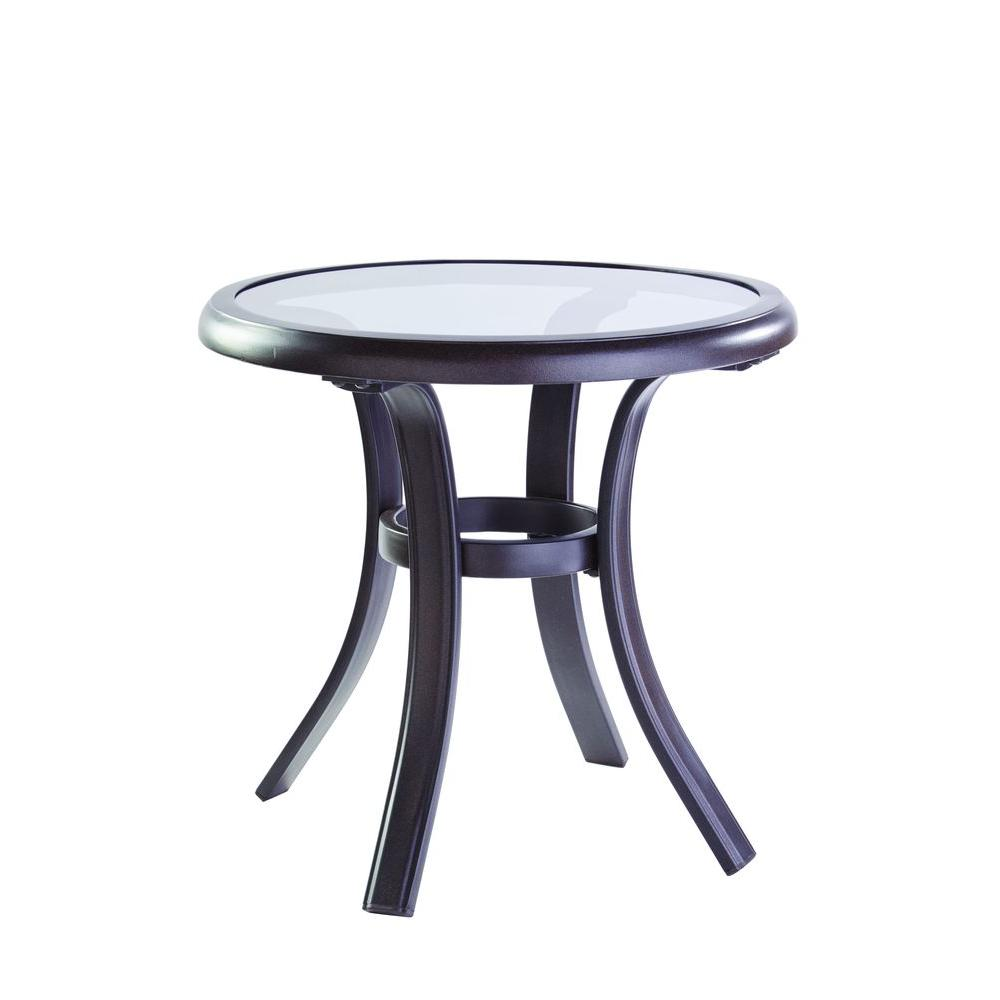 Exceptionnel Hampton Bay Statesville Patio Side Table