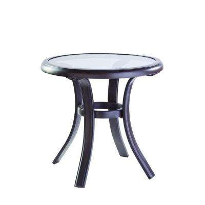 Metal patio furniture outdoor side tables patio tables the statesville patio side table watchthetrailerfo