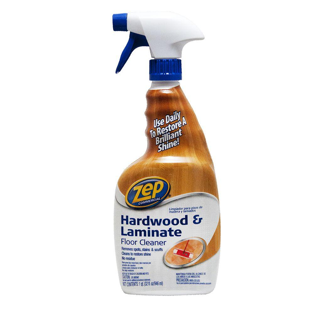 ZEP 32 oz. Hardwood and Laminate Cleaner (Case of 4)-ZUHLF324 - The ...