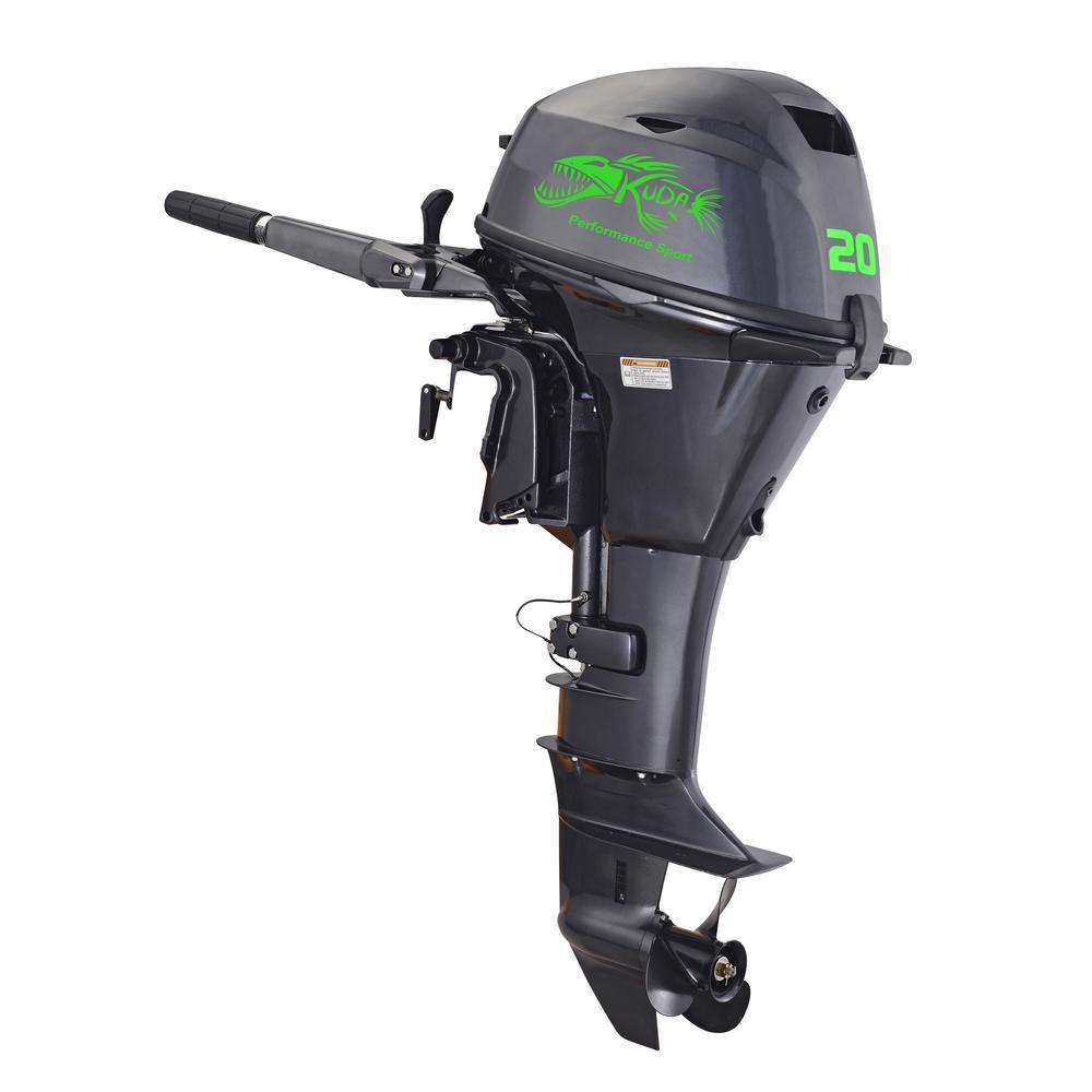 362 cc 20 HP 4 Stroke Outboard Motor 5500 RPM
