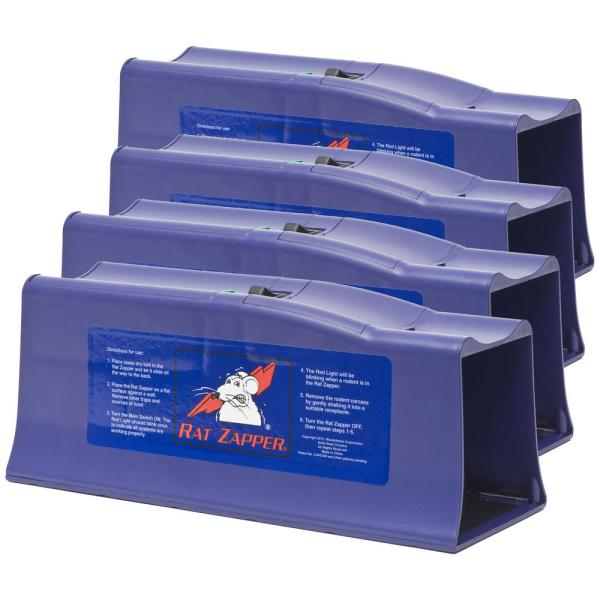Classic Electronic Rat Trap (4-Count)
