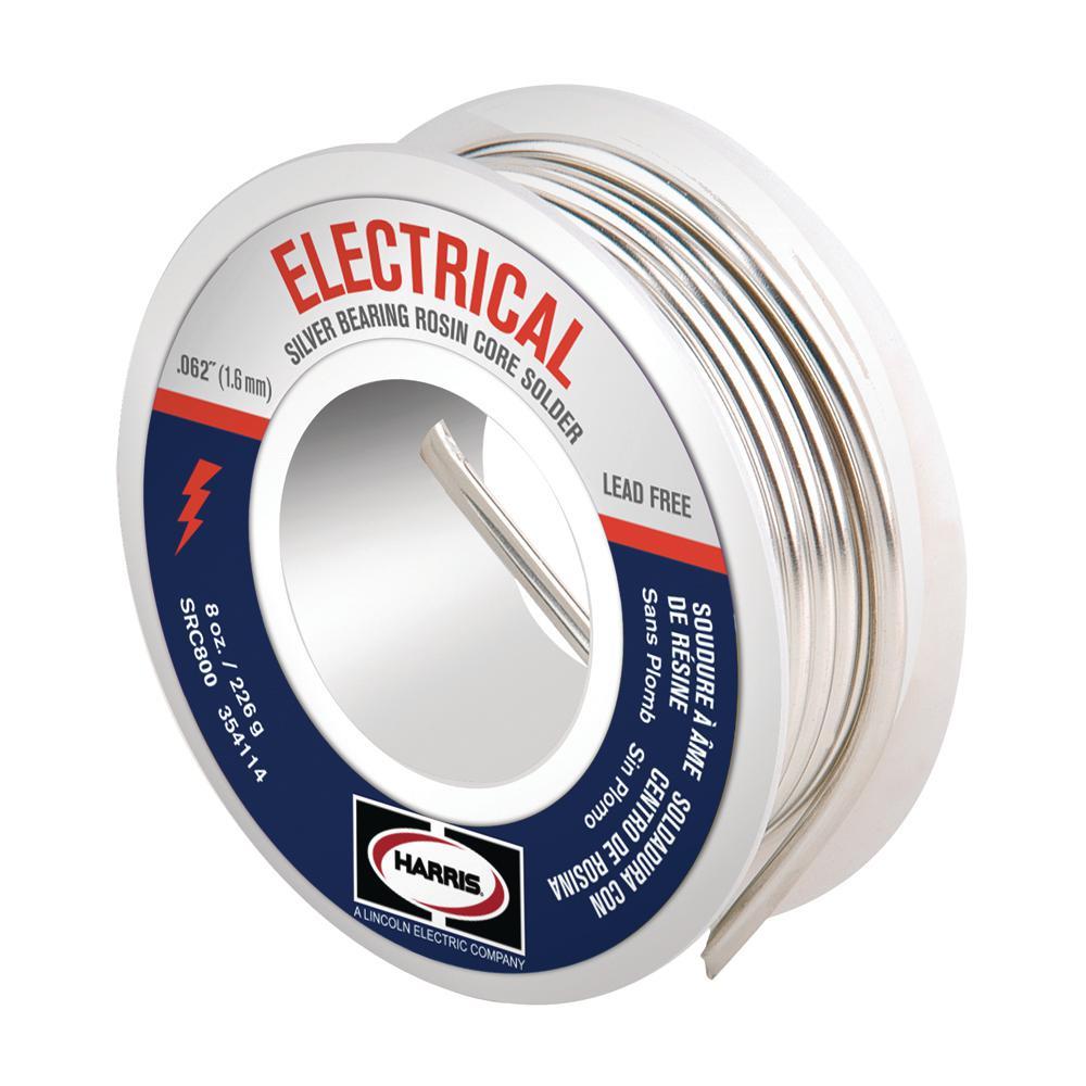 8 oz. Lead-Free Rosin Core Soldering Wire