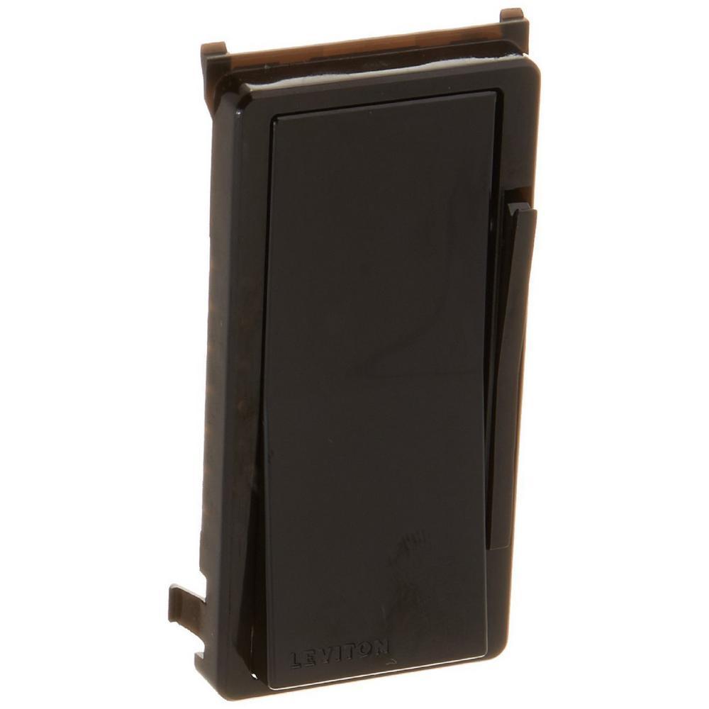 Decora Digital/Decora Smart Dimmer Color Change Kit, Black