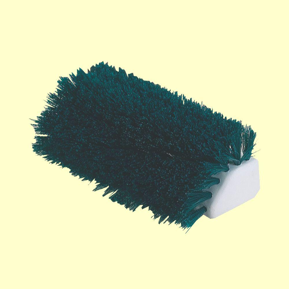 Carlisle Hi-Lo 10 inch Green Polypropylene Scrub Brush (Case of 12) by Carlisle