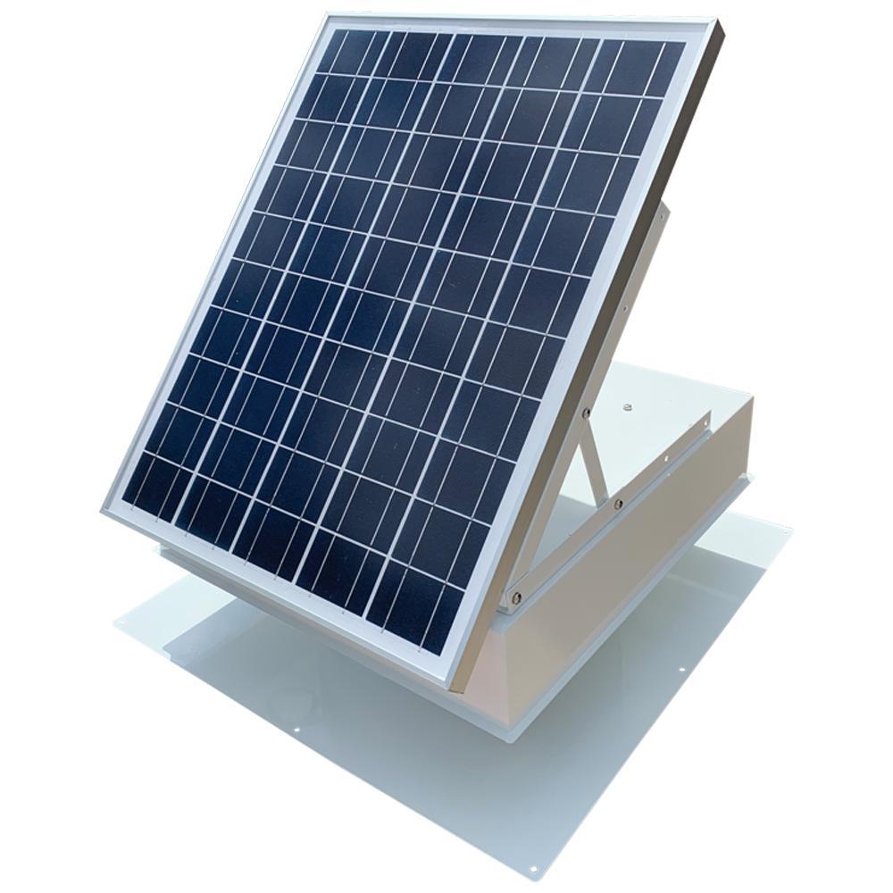 Remington Solar 40 Watt 1875 Cfm White Commercial Solar