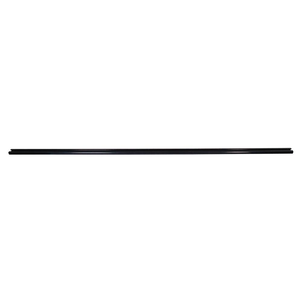 8 ft. Slider Trax Rails - Anodized Black