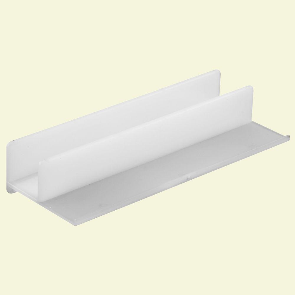 Prime Line White Shower Door Guide