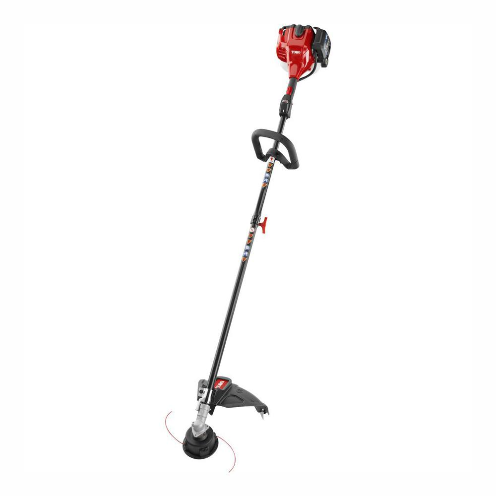 Toro 2-Cycle 25 4cc Attachment Capable Straight Shaft Gas String Trimmer