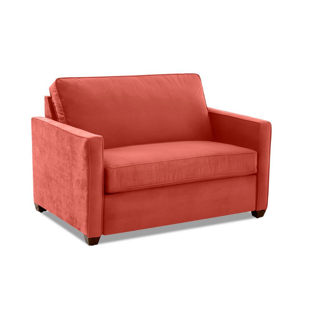 Miranda Rouge Sleeper Chair