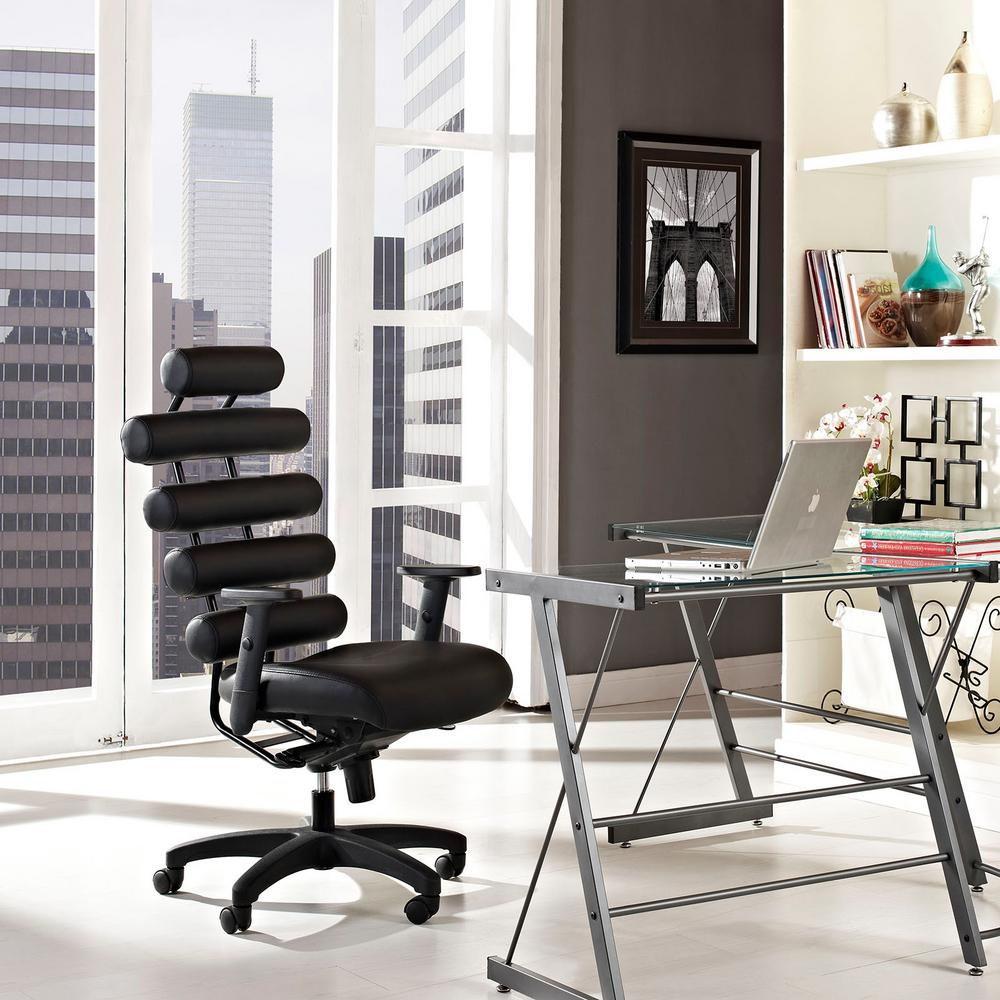 Modway Pillow Office Chair In Black
