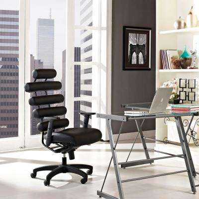 Pillow Office Chair in Black