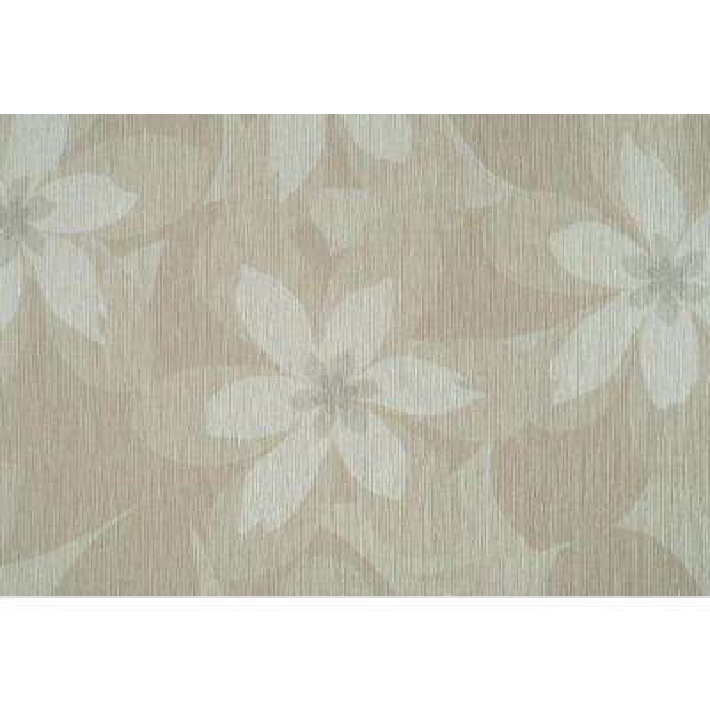 Beige Combo Floral Wallpaper
