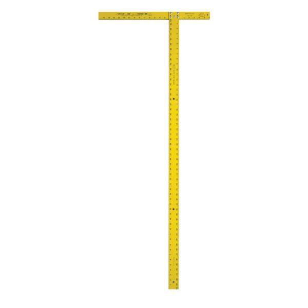 54 in. Wallboard Square, Yellow
