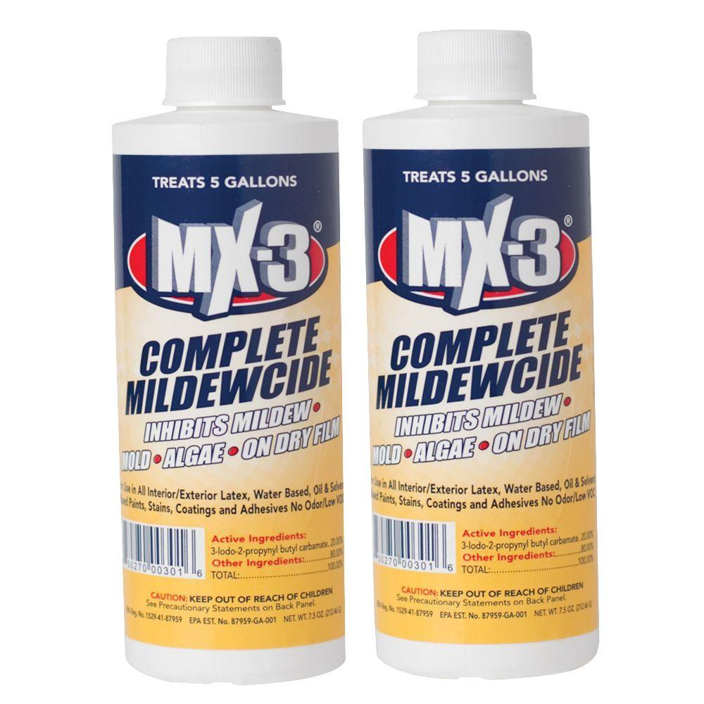 7.5 oz. MX-3 Complete Mildewcide Liquid (treats 5-gal.) (2-Pack)
