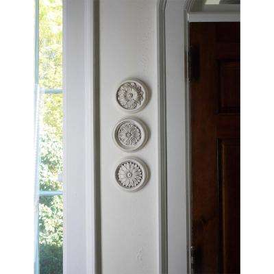 Rondell Medallion Plaques (Set of 3)