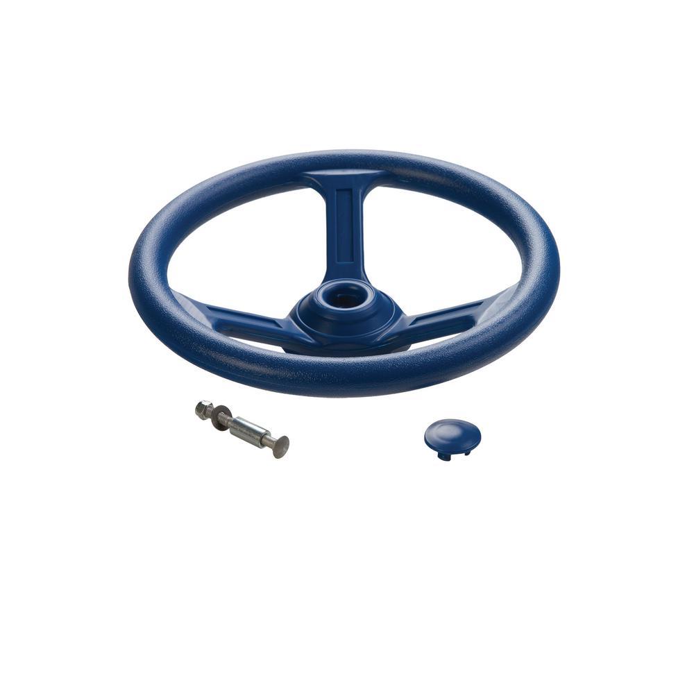 Steering Wheel- Blue