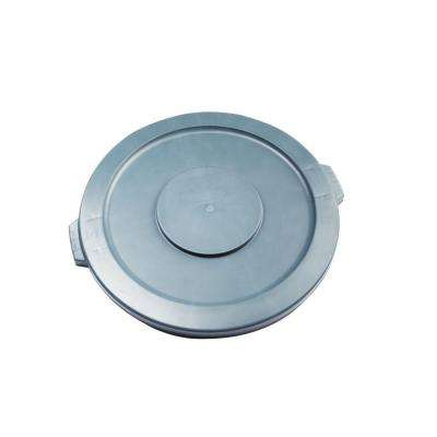 Brute 10 Gal. Gray Round Trash Can Lid