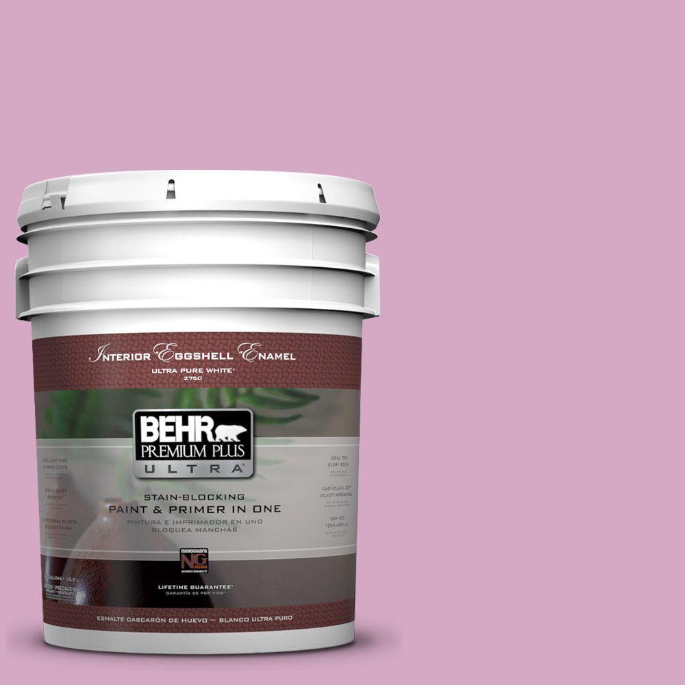 BEHR Premium Plus Ultra 5-gal. #M120-4 Heart to Heart Eggshell Enamel Interior Paint
