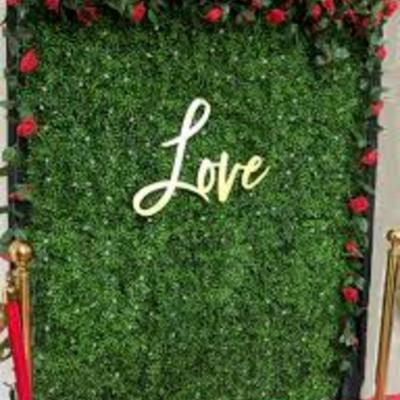 GorgeousHome Artificial Boxwood Hedge Greenery Panels MilanFlower 20 in. x 20 in. (6-Piece)