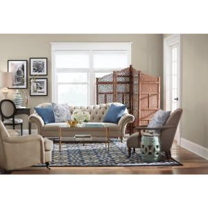 7 Home Decorators Collection Arden Dark Beige Linen Sofa