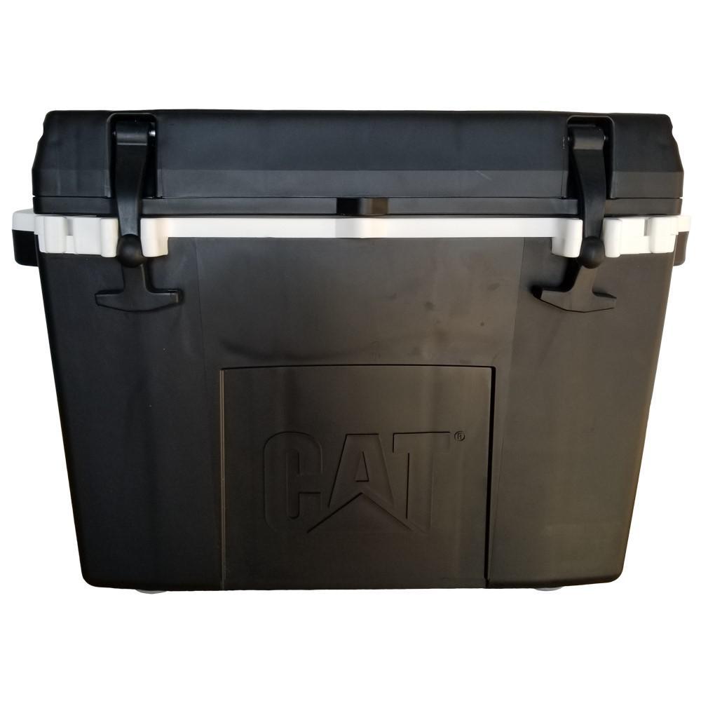 27 Qt. Caterpillar Cooler in Black
