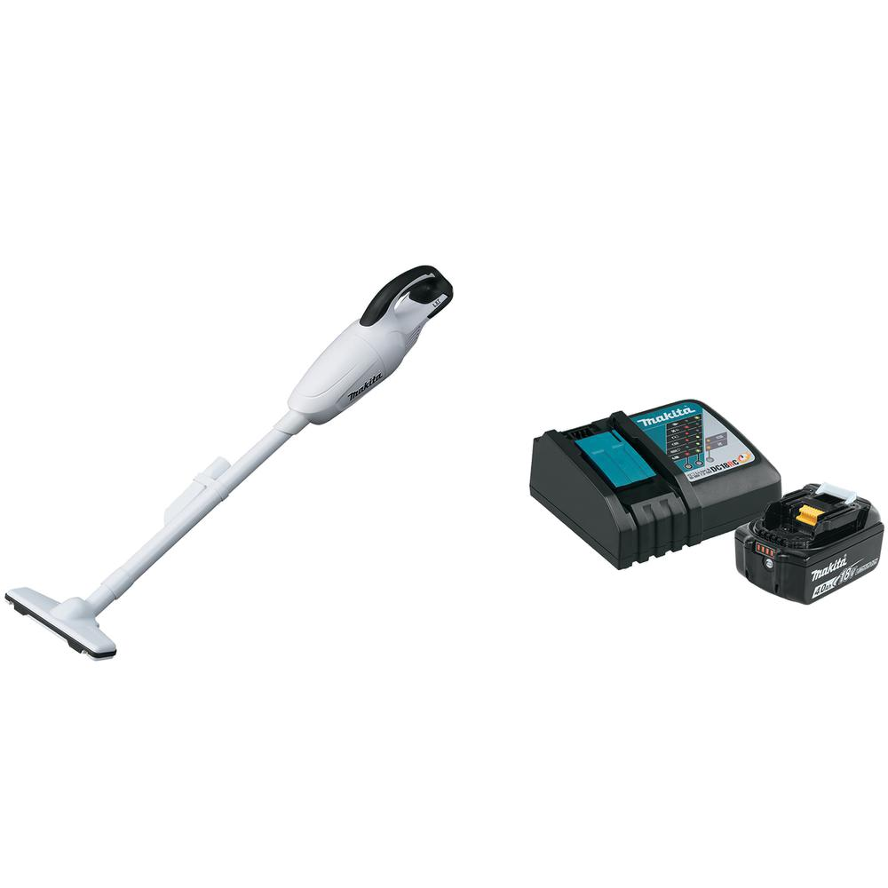 makita 18 volt lxt lithium ion compact cordless handheld vacuum with 4 0ah battery and charger. Black Bedroom Furniture Sets. Home Design Ideas