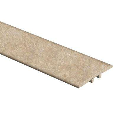 Breezy Stone 1/3 in. Thick x 1-3/4 in. Wide x 72 in. Length Vinyl T-Molding