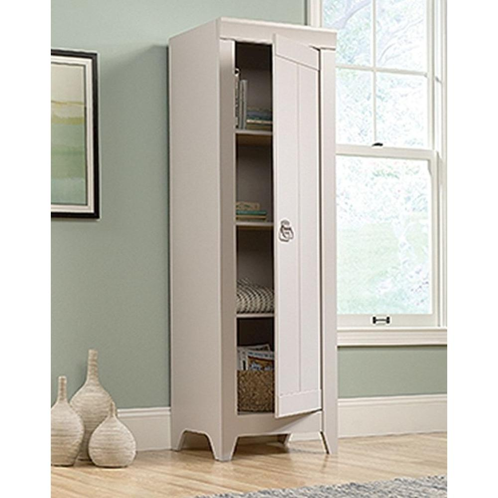 sauder bathroom cabinets sauder adept cobblestone storage cabinet 418085 the home 25856