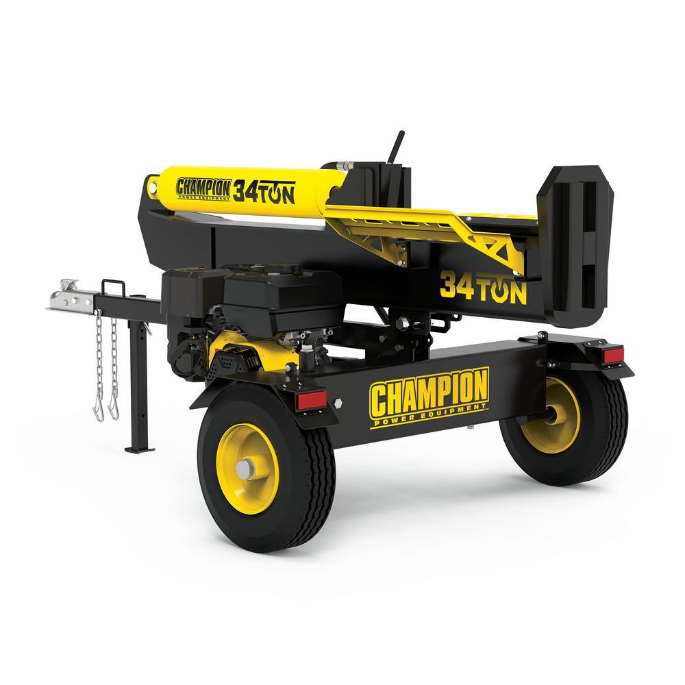 Champion Power Equipment 34 Ton 338 cc Log Splitter