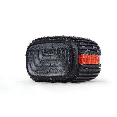 Trax IPX4 Weatherproof Rugged Bluetooth Speaker - Red