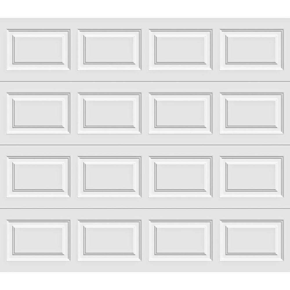 Clopay Premium Series 8 ft. x 7 ft. 18.4 R-Value Intellicore Insulated White Garage Door