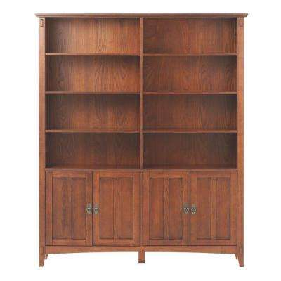 Artisan Medium Oak Storage Open Bookcase