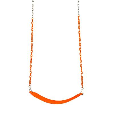 Tangerine Colored Deluxe Swing Belt and Chain