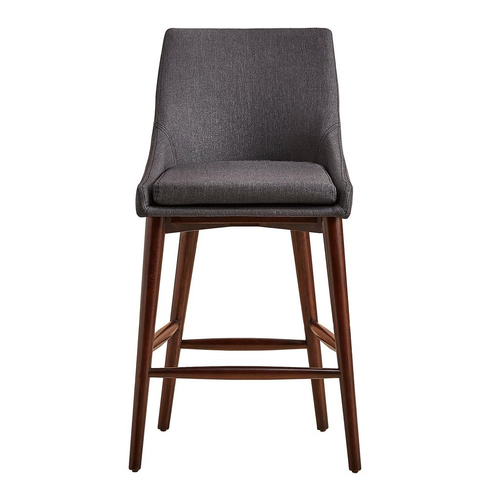 HomeSullivan 24 in Nobleton Dark Grey Mid Century Bar  : dark grey homesullivan bar stools 405048 24dg2p 641000 from www.homedepot.com size 1000 x 1000 jpeg 68kB