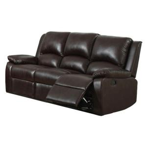 Stupendous Oxford Rustic Dark Brown Faux Leather Sofa Cjindustries Chair Design For Home Cjindustriesco
