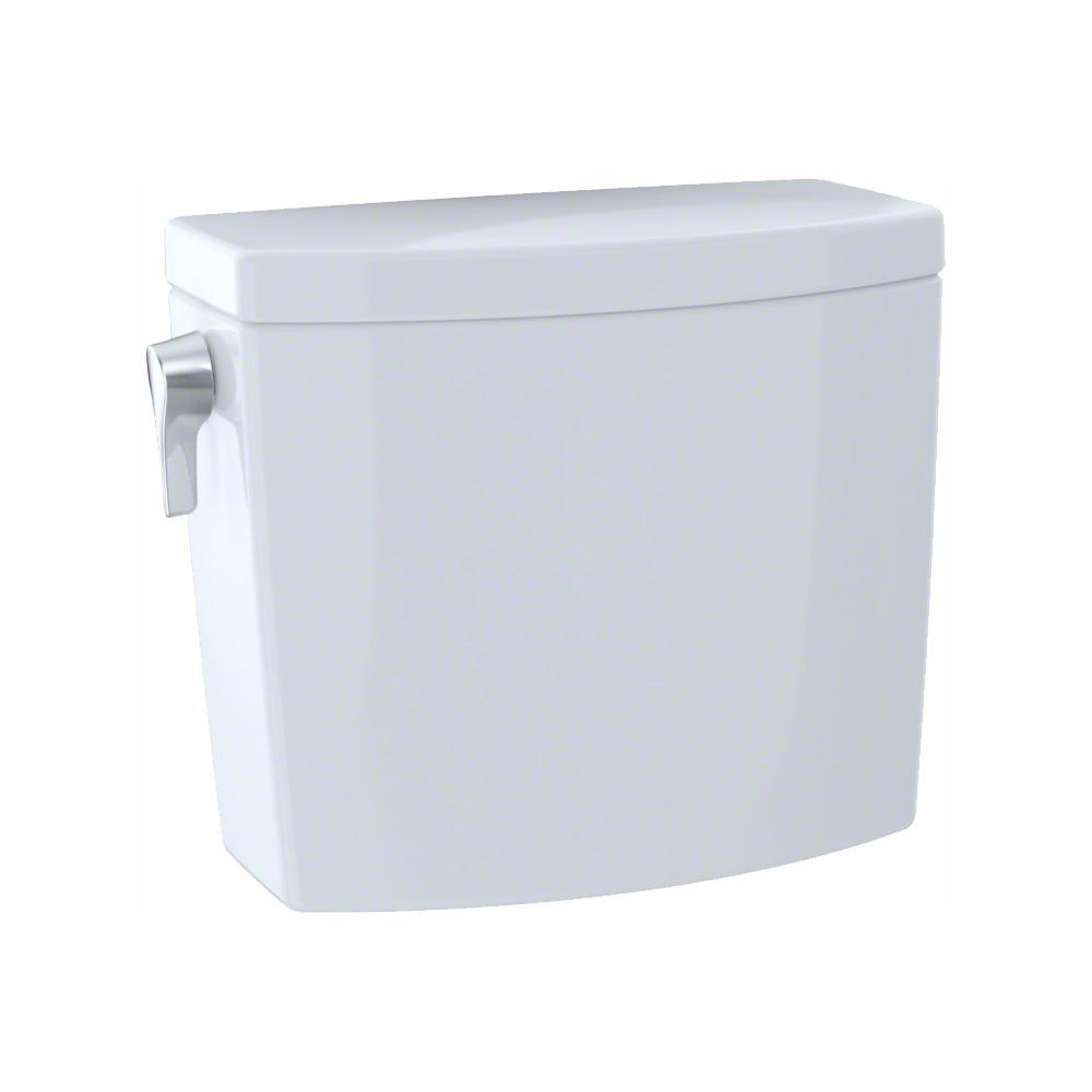 TOTO Drake II 1.0 GPF Single Flush Toilet Tank Only in Cotton White