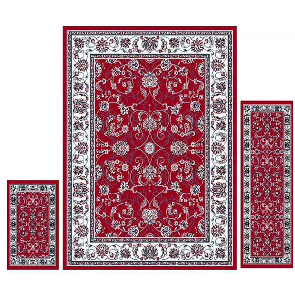 Home Dynamix Ariana Red Ivory 4 Ft 11 In X 6