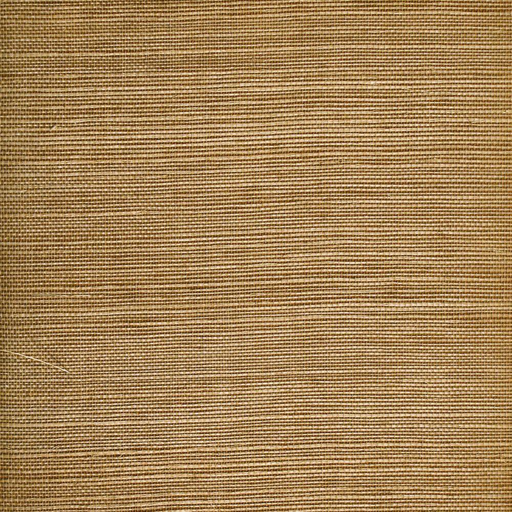 The Wallpaper Company 8 in. x 10 in. Orange Grasscloth Wallpaper Sample-DISCONTINUED