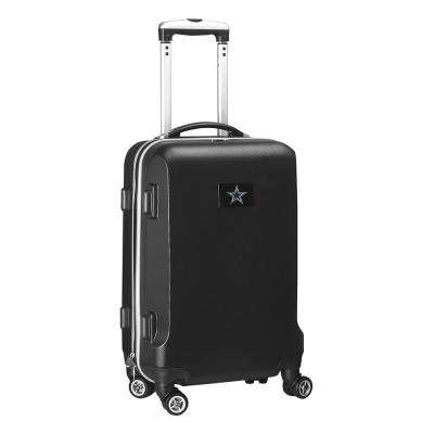 NFL Dallas Cowboys 21 in. Black Carry-On Hardcase Spinner
