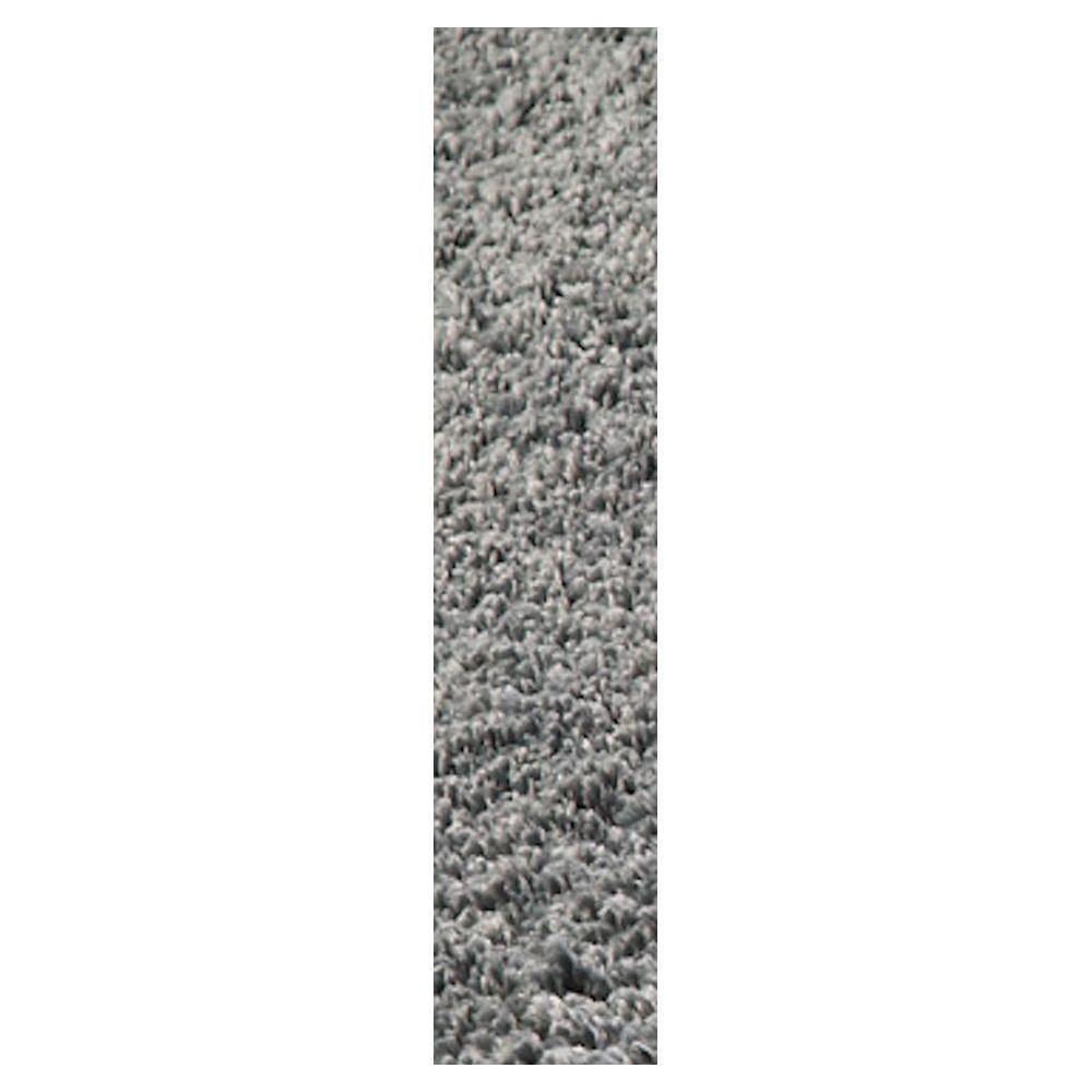 Cozy Shag Grey 2 ft. 3 in. x 7 ft. 6