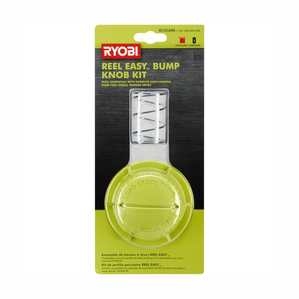 RYOBI Replacement Arborless Bump Knob for Reel Easy Trimmer Head