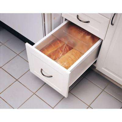 0.375 in. H x 20.125 in. W x 21.75 in. D Large Translucent Bread Drawer Cover Kit